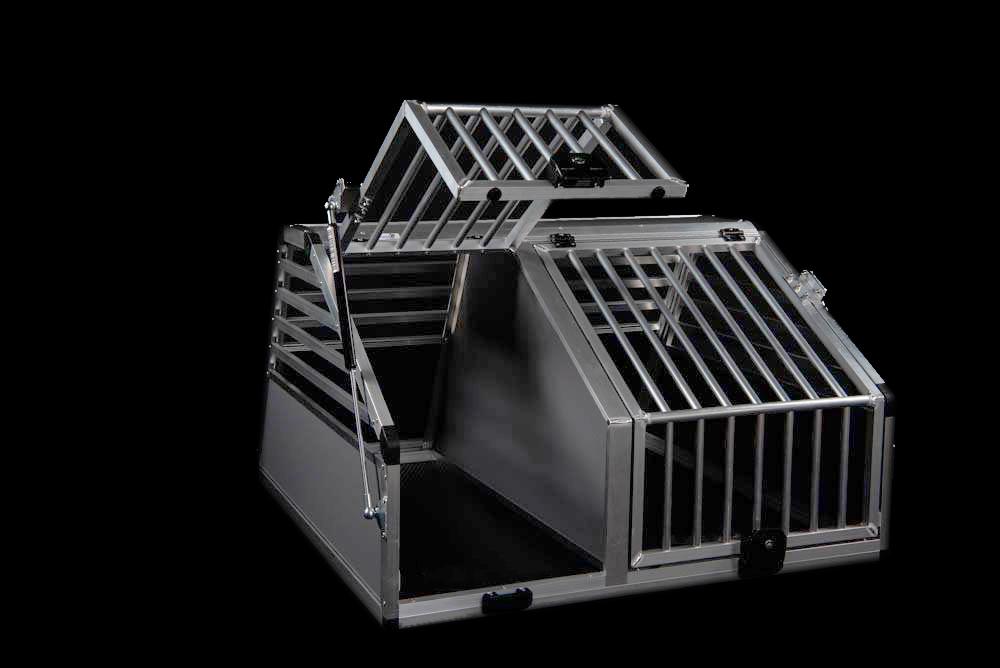 Hunde Doppelbox Auto
